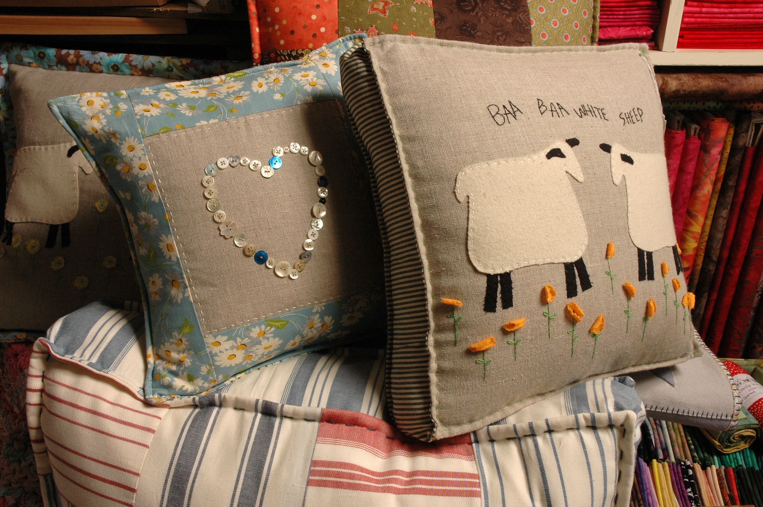 Lovely Cushions from Cowslip Farm, Cornwall