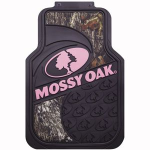 Mossy Oak Mossy Oak Break Up Pink Floor Mat Mfm4105