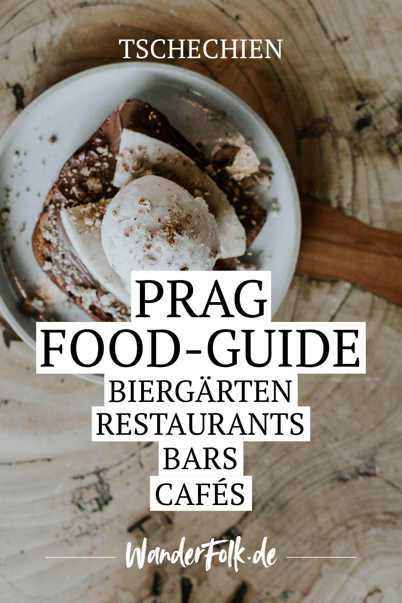 Der Food-Guide für Prag: Eine Liste meiner liebsten Restaurants, Biergärten, Weinberge, Cafés, Frühstückslokale, Bistros & Bars. #czechrecipes