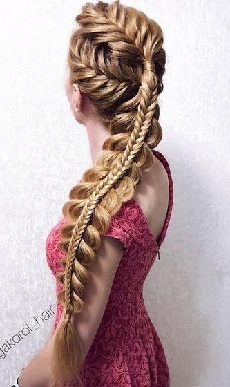 12 simple braids for long hair #simple #long #brai
