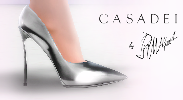 My Sims 4 Blog: Christian Louboutin Stiletto Shoes by