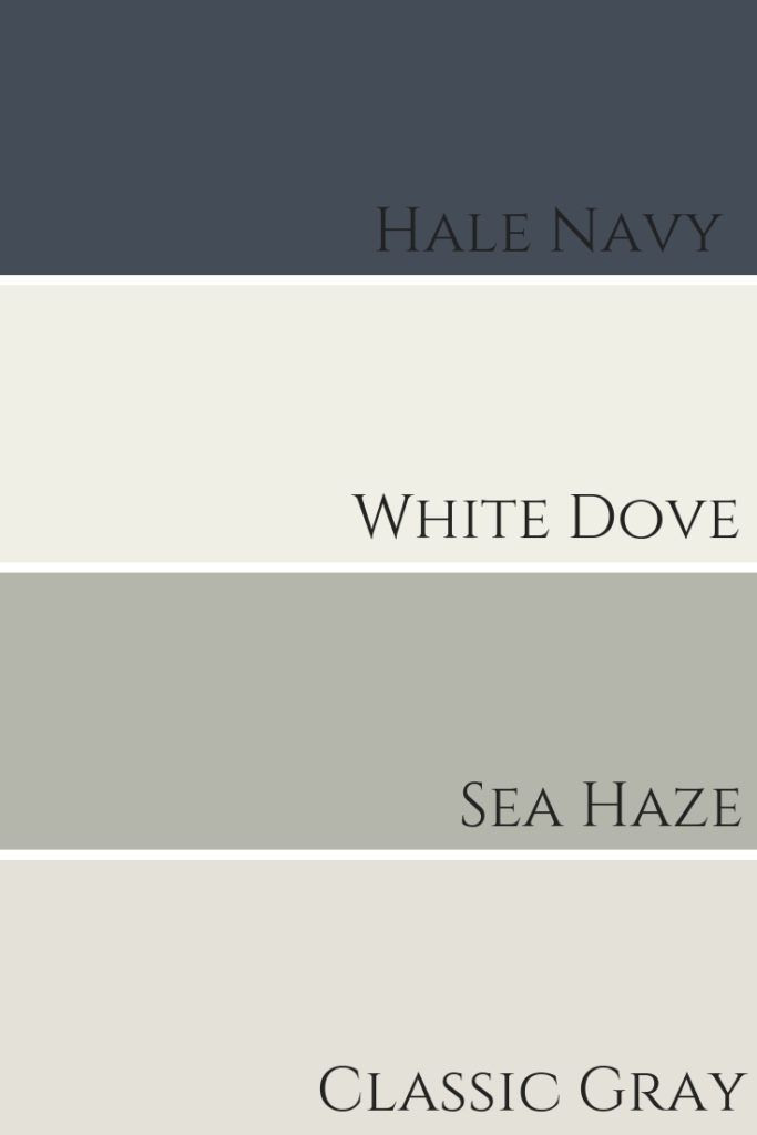 White Dove by Benjamin Moore Colour Review #exteriorhousecolors