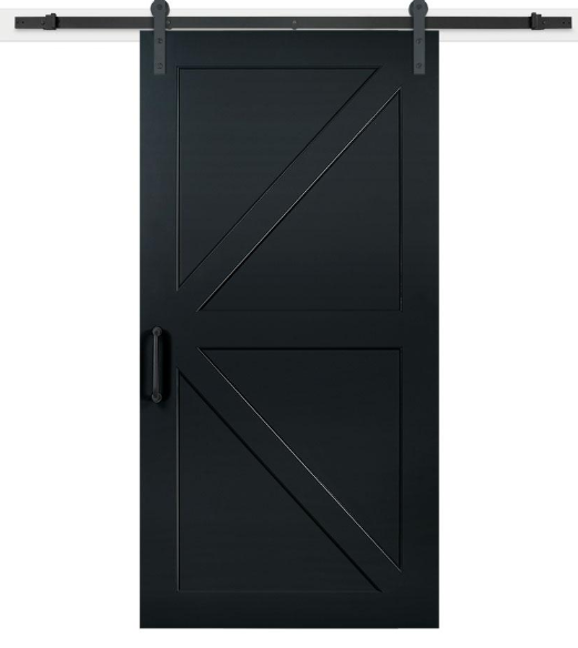 Black Barn Door Barn Door Basement Barn Door Black Barn