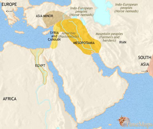 history map of Middle East 2500BC | Ancient Near-East | Pinterest ...