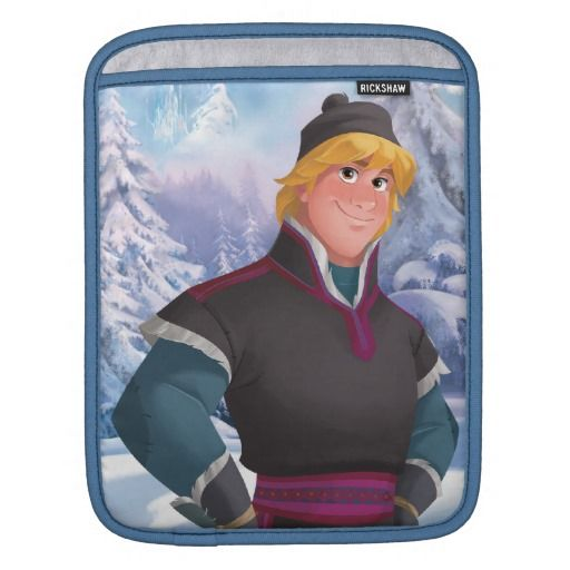 Kristoff iPad Sleeves