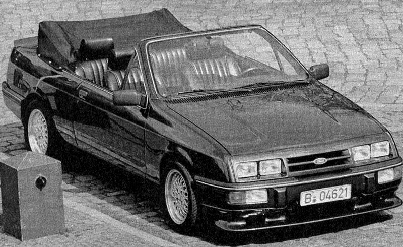 Custom Built Ford Sierra Cabriolet 1985 Cabrio