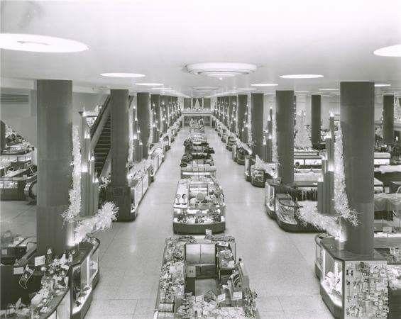 Rikes Department Store Dayton Ohio During Christmas Time Dayton Ohio Dayton Fairborn Ohio