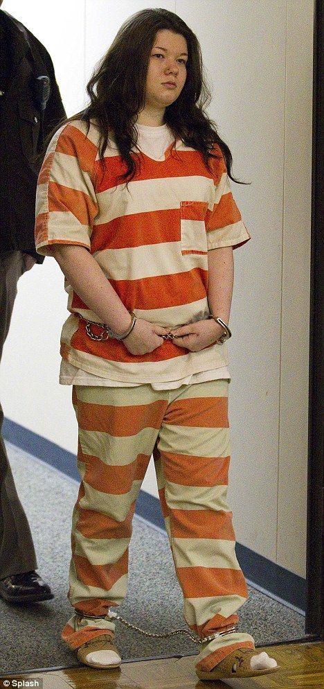 Teen in shackles