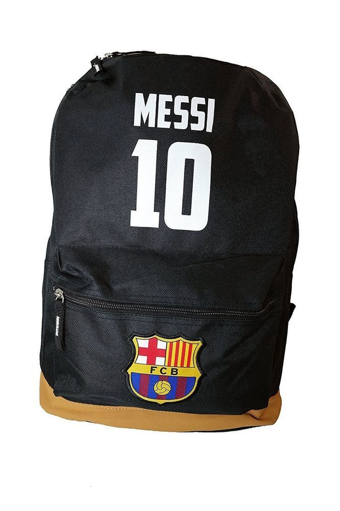 Barcelona Backpack Official Merchandise Fc Football Bag School Sports F.c