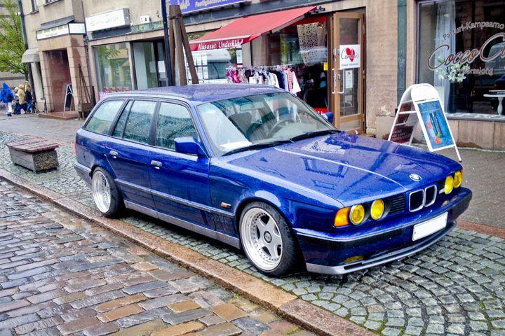 Wagon Wednesday 1994 Bmw E34 M5 Touring Nurburgring Edition Bmw