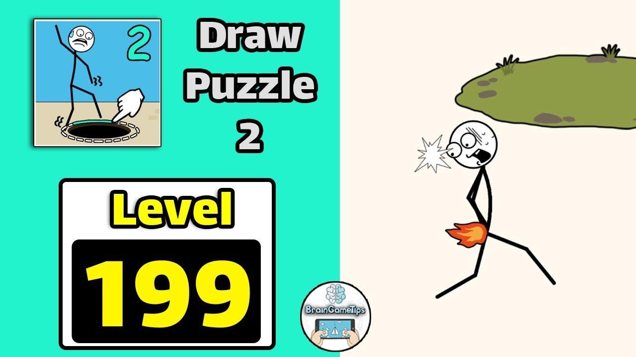 Draw Puzzle 2 Level 199 Walkthrough Youtube Playlist Draw Puzzle