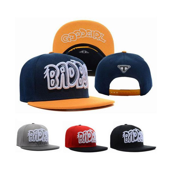 NEW Bad Boy Good Girl Hiphop Hat/ Cap Adjustable Snapback/Trucker 2types found on Polyvore featuring polyvore, fashion, accessories, hats, snapback hats, adjustable snapback hats, cap snapback, snap back caps and adjustable snapback