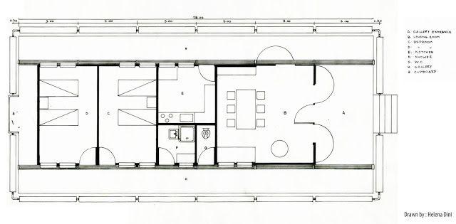 arch 100 110 2011 les maisons tropicales tropical house plan a jean prouve pinterest. Black Bedroom Furniture Sets. Home Design Ideas