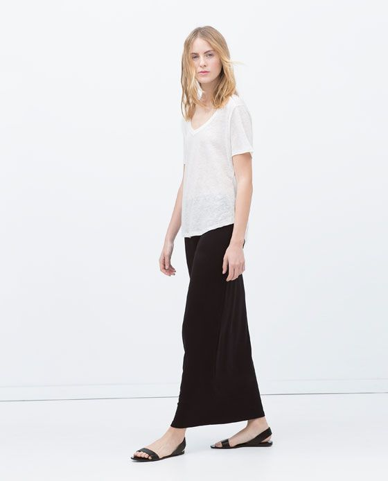 86fdf76045 Image 3 of LONG STRAIGHT SKIRT from Zara | raquel skirts | Long ...
