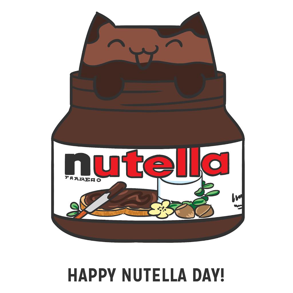 February 5 Happy Nutella Day The Pink Samurai Nutella Nutella Image Nutella Recipes