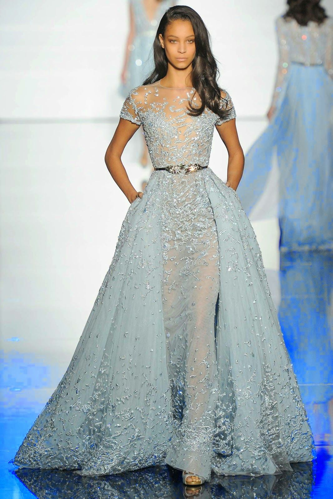 Zuhair Murad Haute Couture Spring 2015 - Paris Couture Week | pretty ...