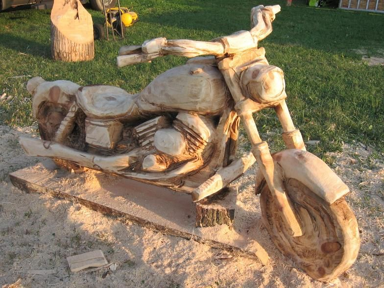 Chainsaw carved wood benches custom carvings and