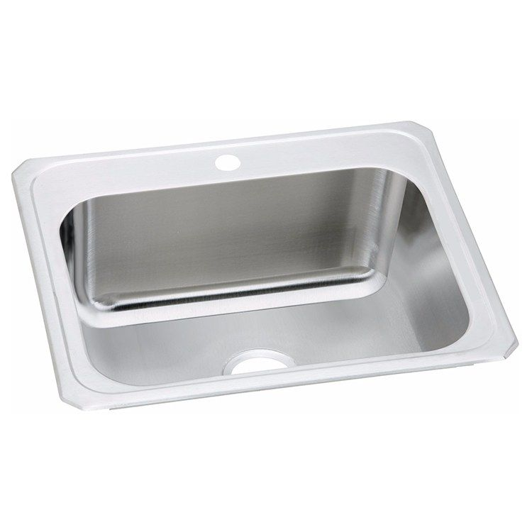 Celebrity 25 Single Bowl Stainless Steel Drop In Laundry Sink