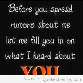 spreading rumors Some rumors grind to a halt, while others circle the world why some ideas spread and others die.