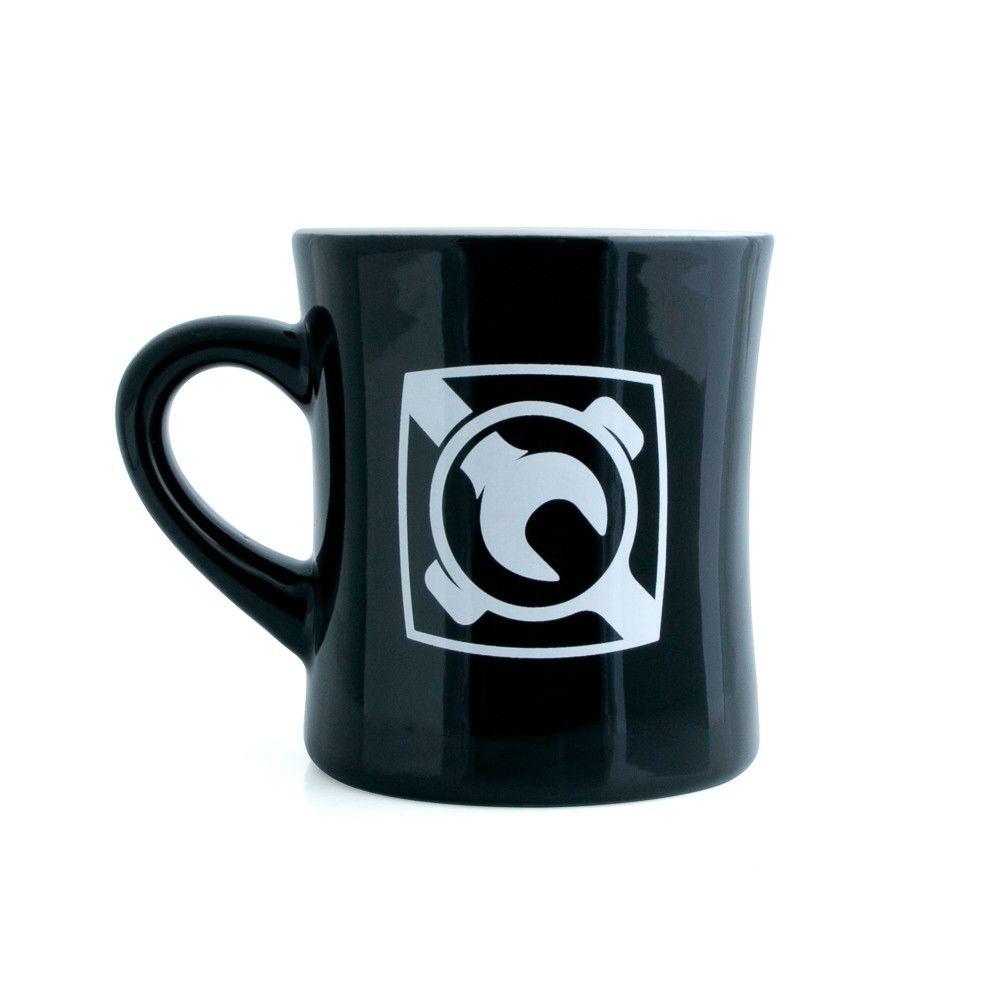 Espresso parts diner mug gloss finish in black limited