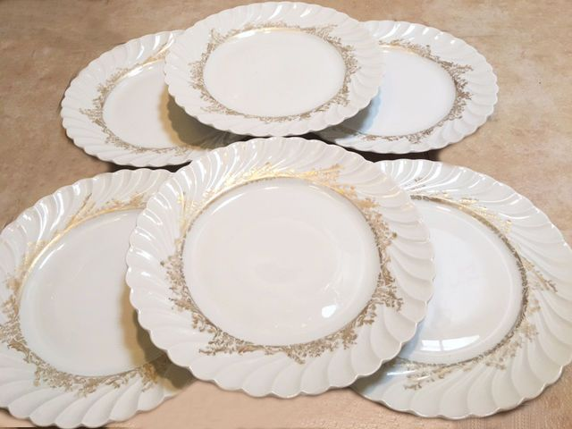 Haviland Limoges Dinner Plates 12 plates Vintage china & Haviland Limoges Dinner Plates 12 plates Vintage china | Pin what ...