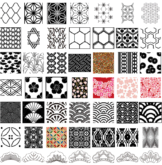 Japanease Geometric Patterns Will I Ever Be Satisfied With My