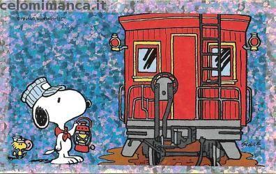 Peanuts Snoopy e i suoi amici: Fronte Figurina n. 99 -