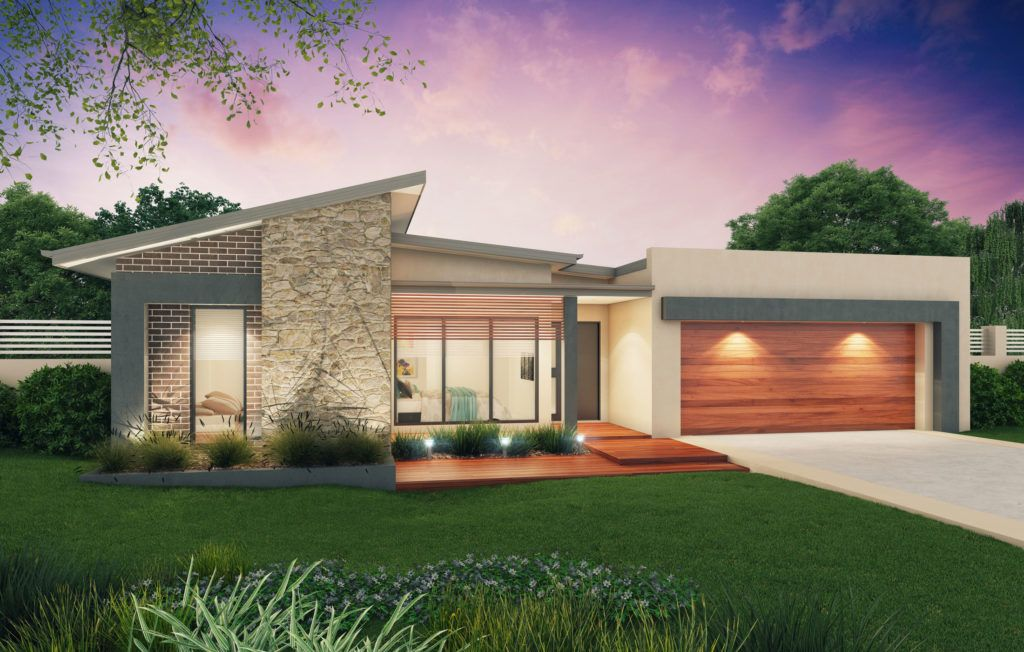 10 Contemporary House Designs With Floor Plan Perfect For Modern Family Facade House Contemporary House Design Modern House Facades
