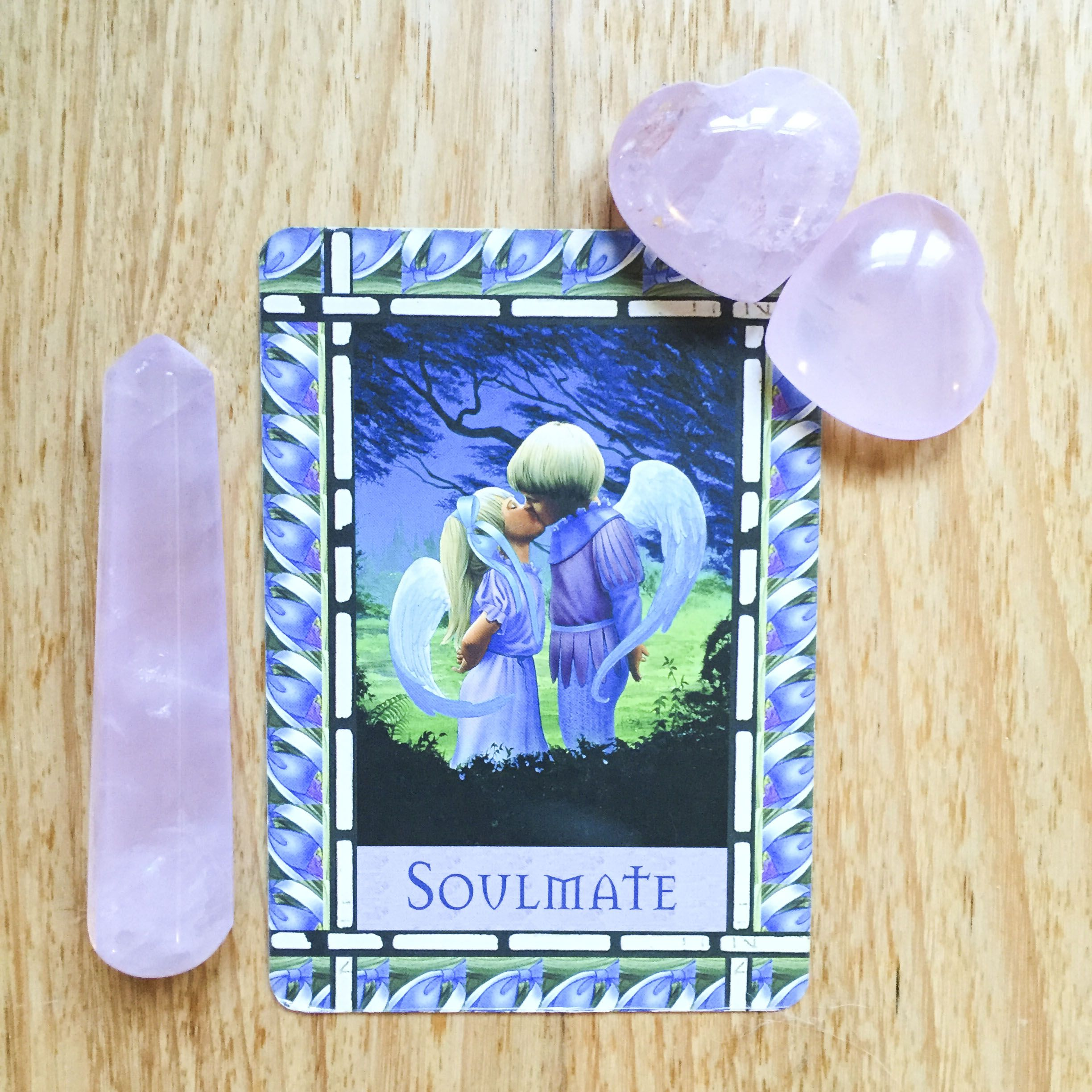 Card of the day 10 june soulmate angel oracle cards