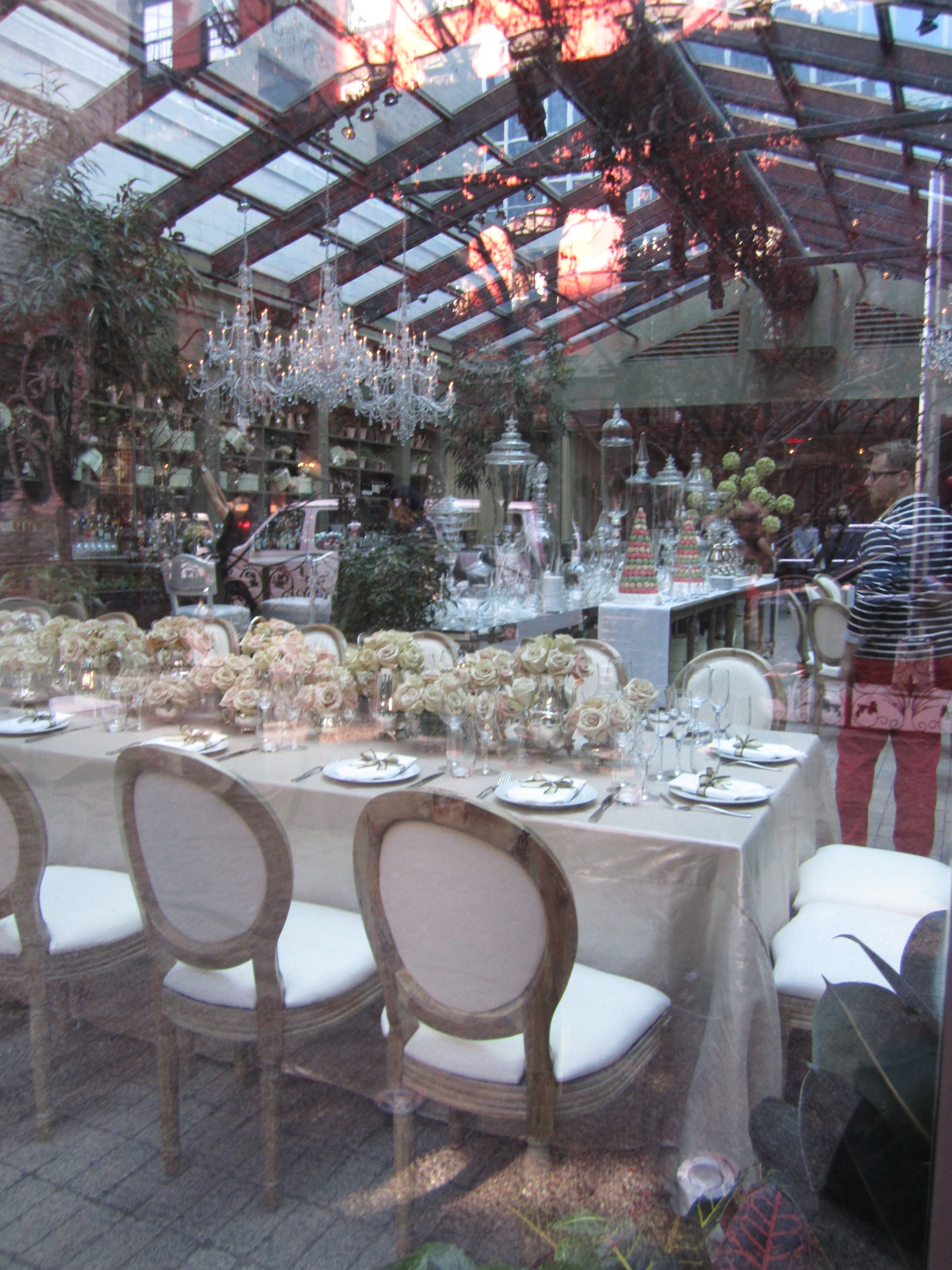 A Nyc Wedding Shower At Mondrian Hotel Bridal Venues Brunch Reception