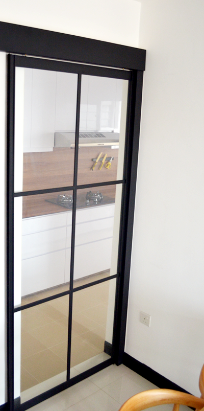 Powder Coated Kitchen Cabinets