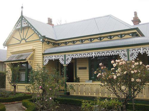 Hymettus Cottage Ballarat House Exterior Color Schemes Exterior House Colors House Exterior