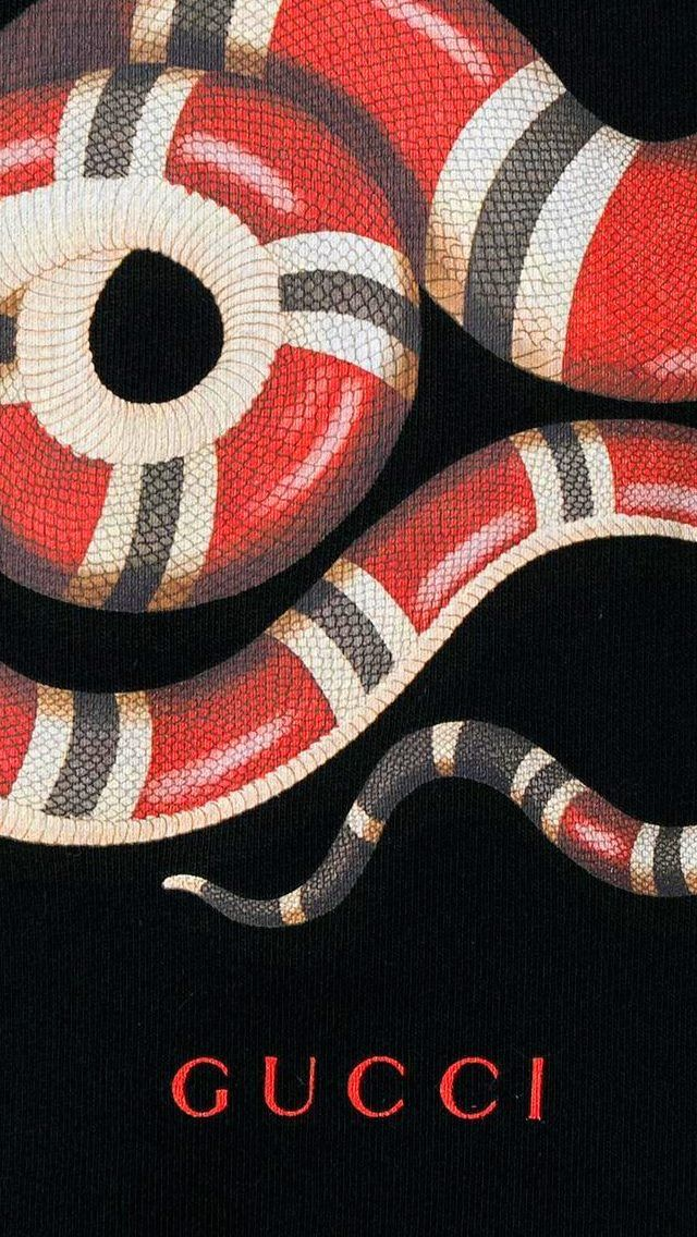 Gucci Snake Wallpaper For Iphone X