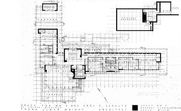 Schultz House Floor Plan AS BUILT (588×361)