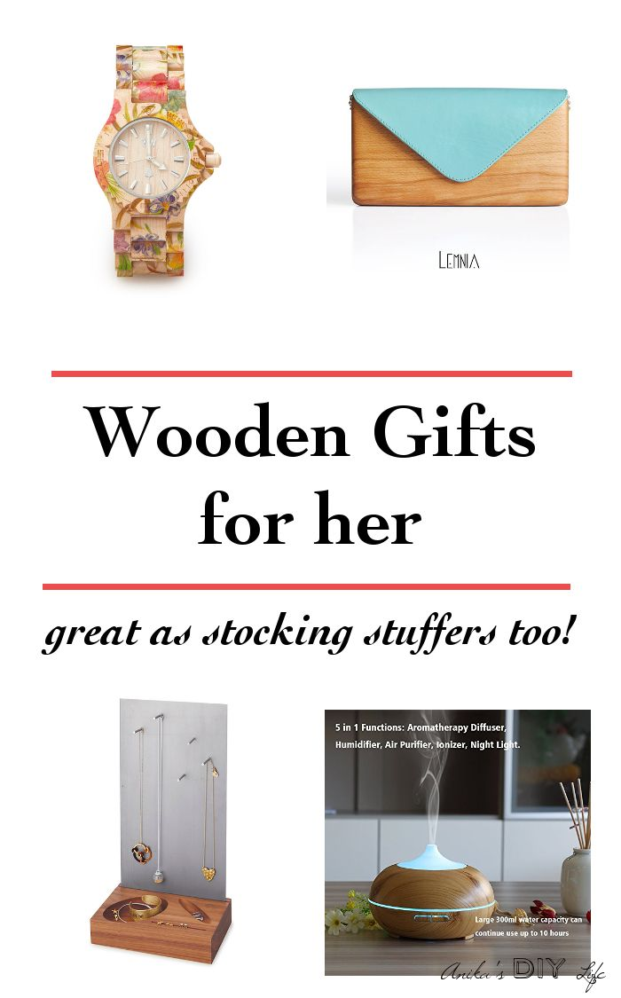 Wooden Gifts for Women for any Occasion - Anika's DIY Life