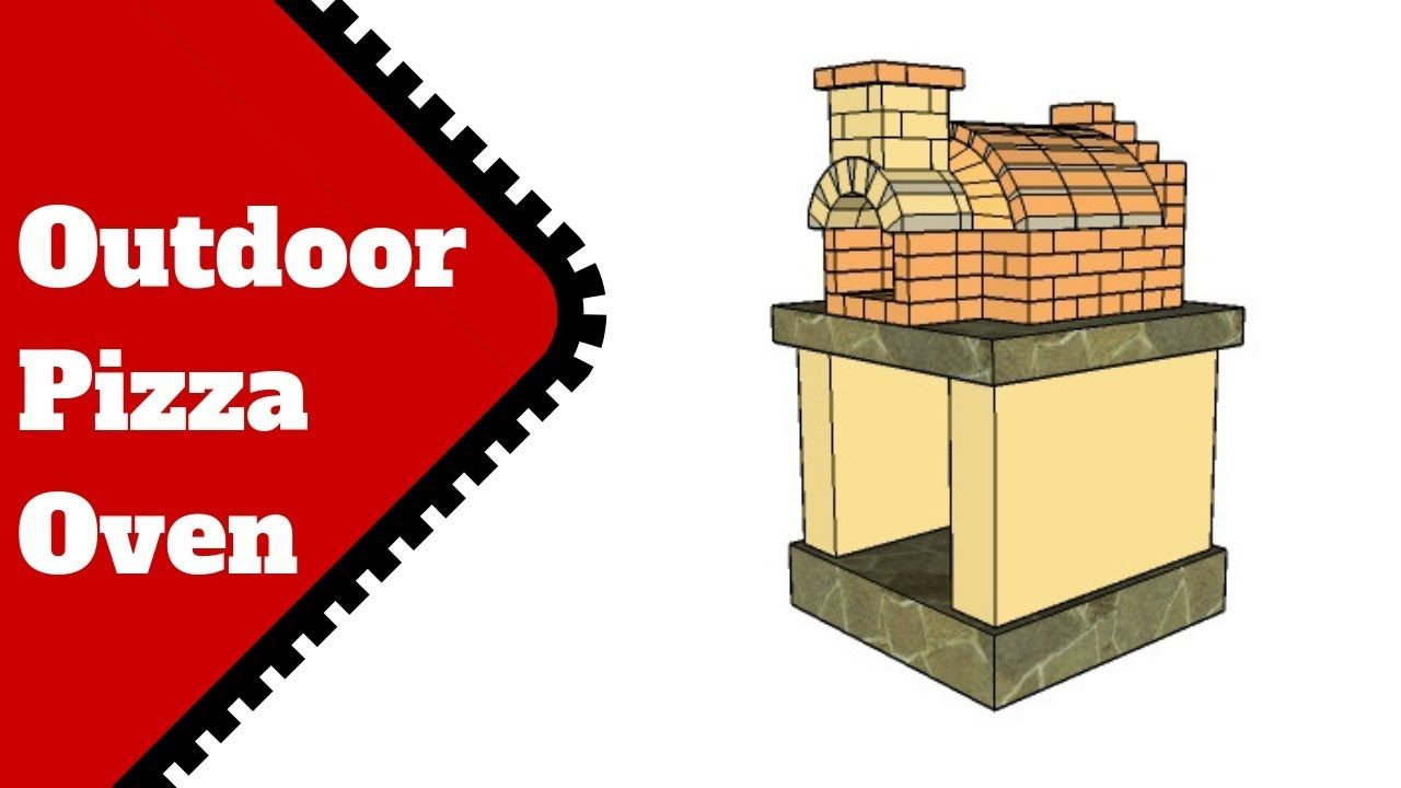 Free Outdoor Pizza Oven Plans | Pizza oven plans, Pizza oven