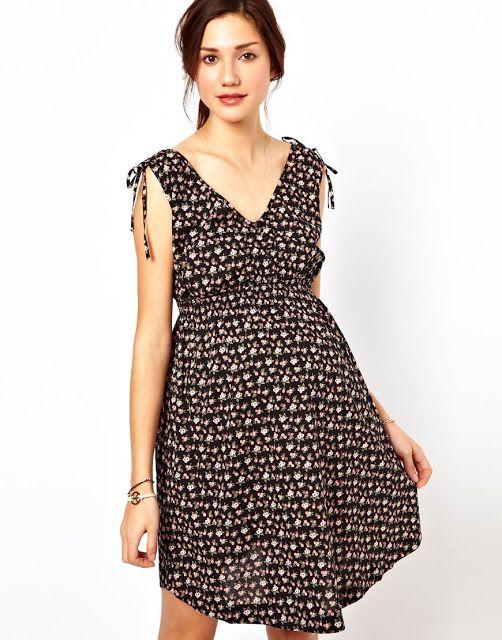 New Look Maternity Printed Dress