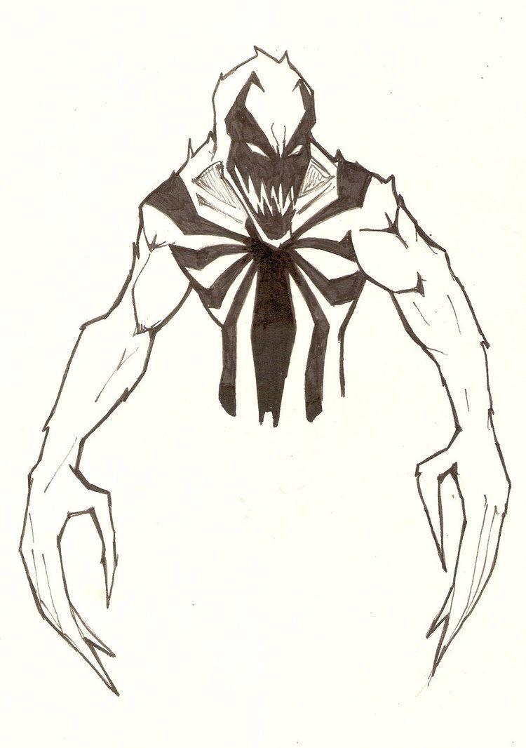 Anti Venom By Vauz On Deviantart Marvel Drawings Venom Art Anti Venom Marvel