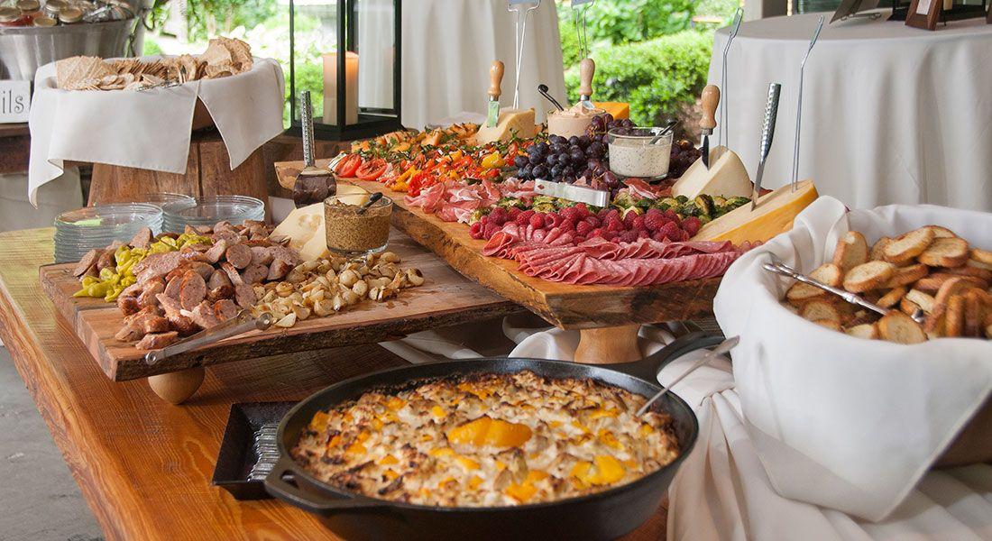 Appetizer Wedding Reception