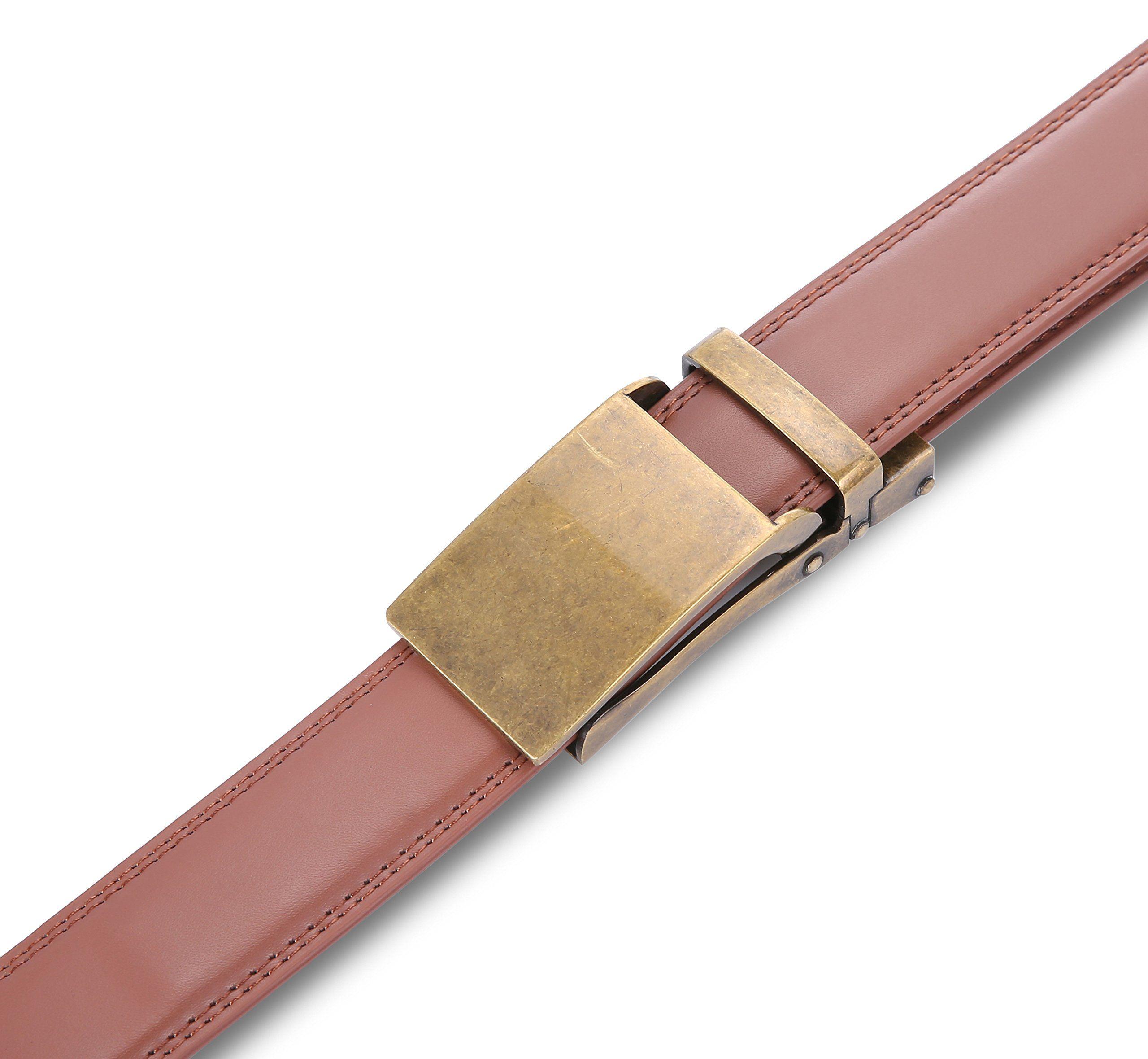 Marino Avenue Men's Genuine Leather Ratchet Dress Belt