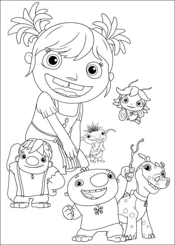 Wallykazam Coloring Pages 16 Coloring Pictures