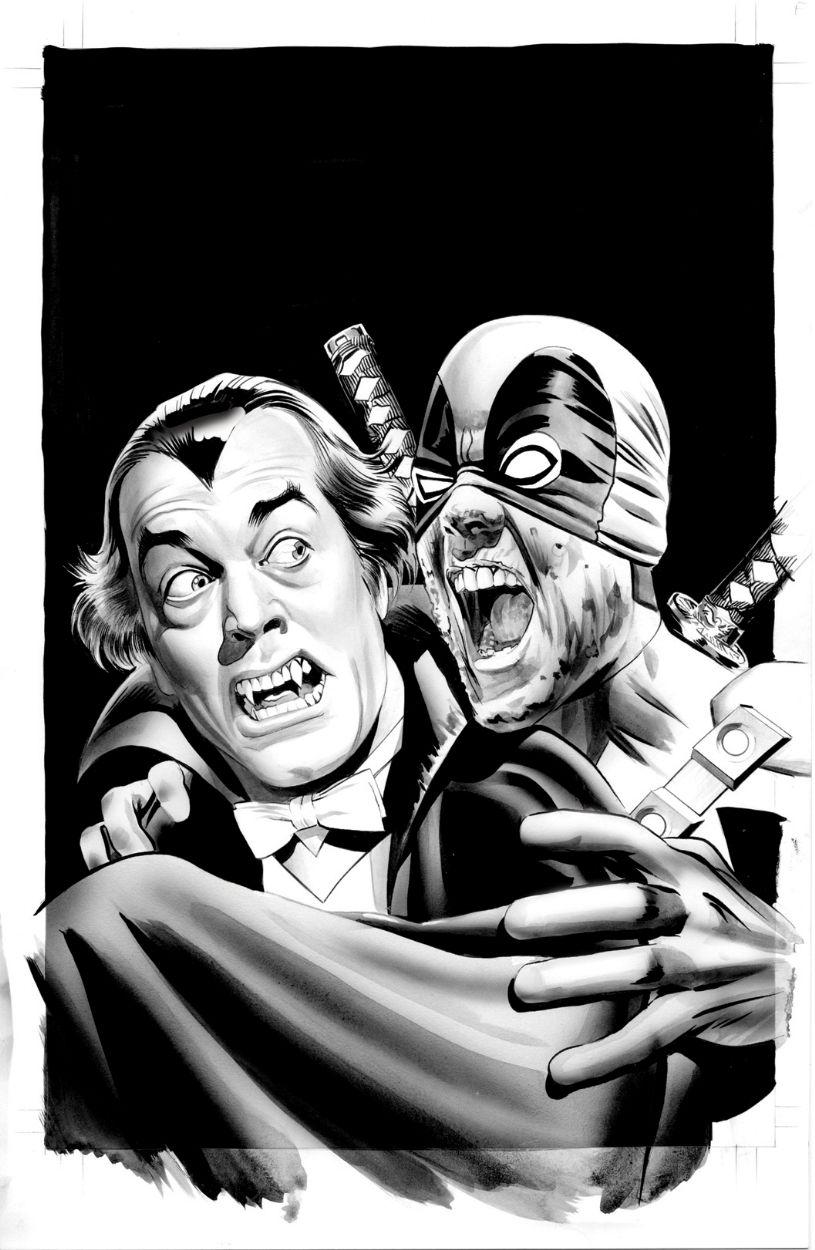 Mike Mayhew Deadpool #28 Vampire Variant - W.B.