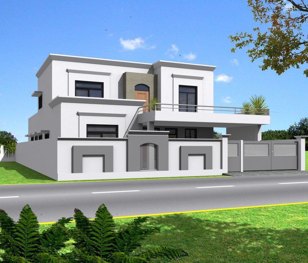 Elevations of residential buildings in indian photo for Kerala residential building elevations