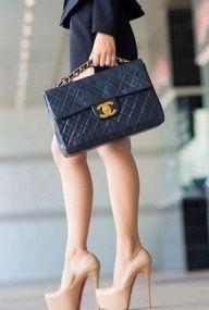 Chanel Shoe and Handbag Style...