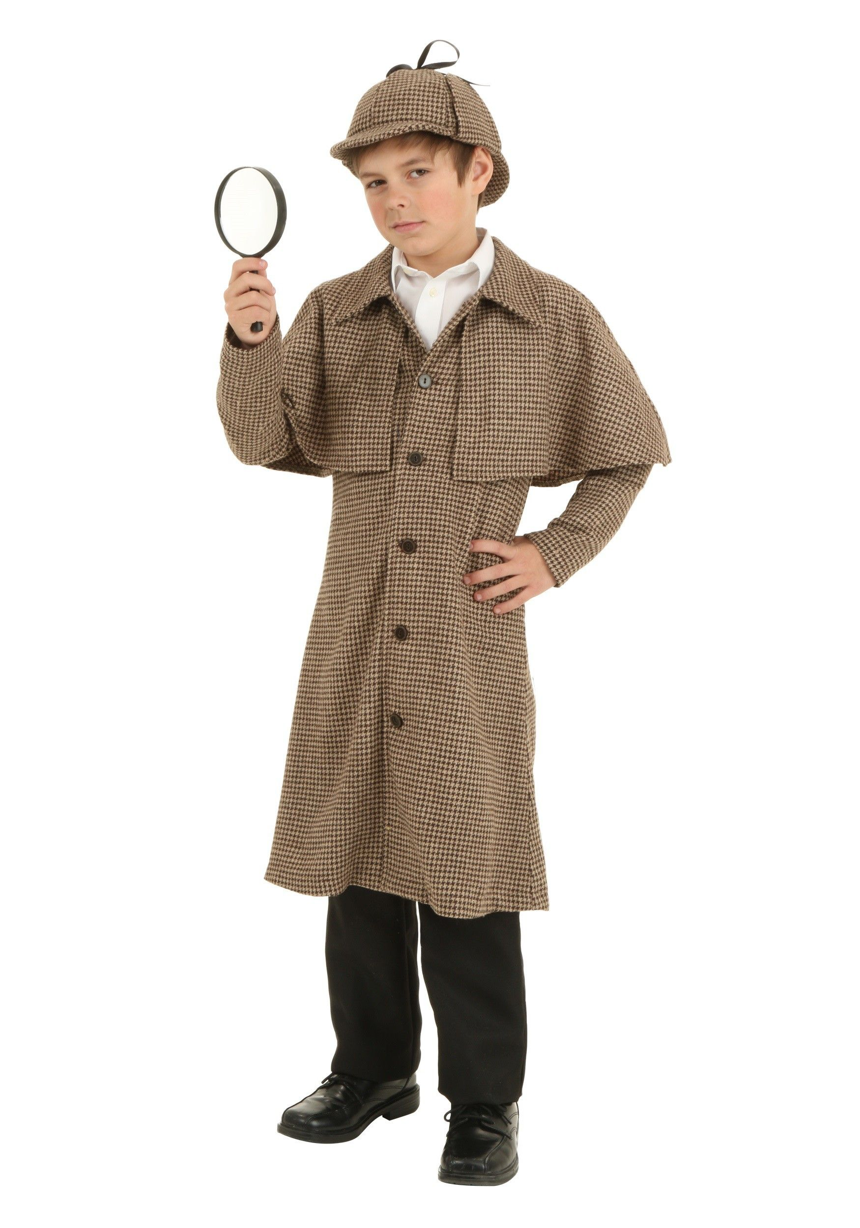 CHILDS DETECTIVE KIT SHERLOCK HOLMES BOOK DAY WEEK FANCY DRESS CHARACTER COSTUME