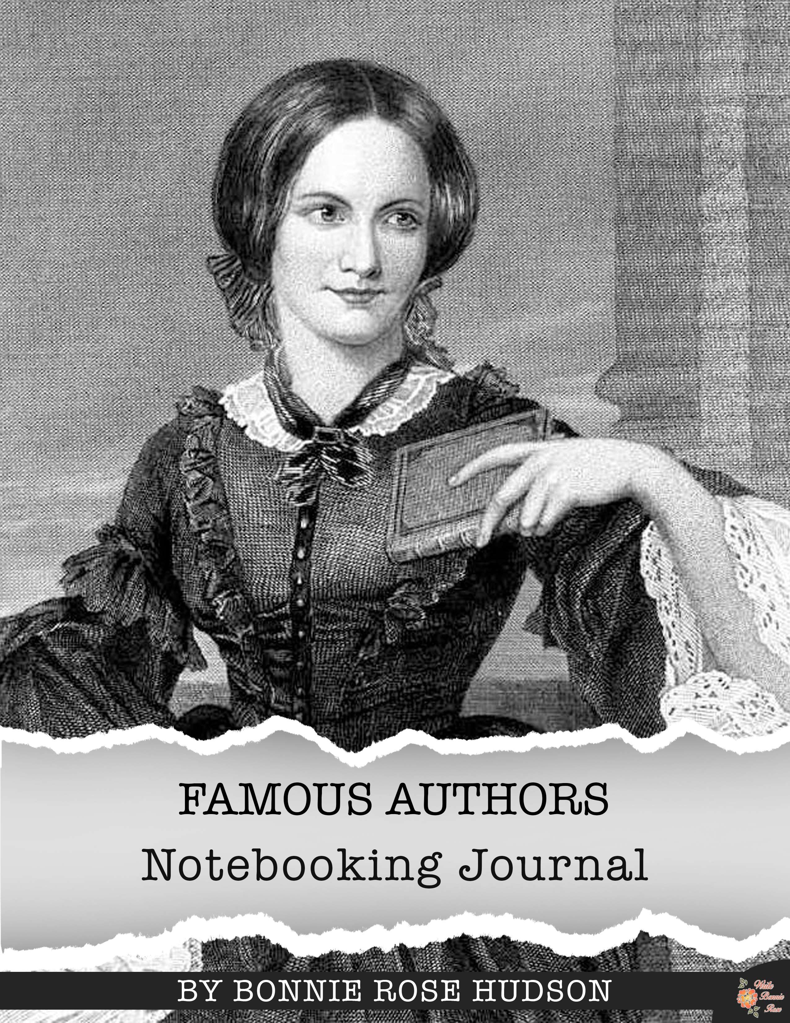 Free Famous Authors Notebooking Journal