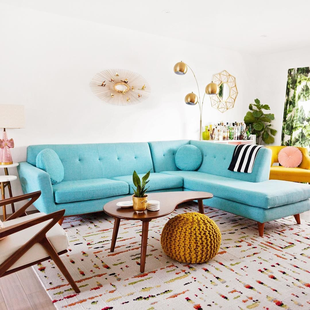 Modern Living Room Design – 5 Ways to Try a Mid-Century Style