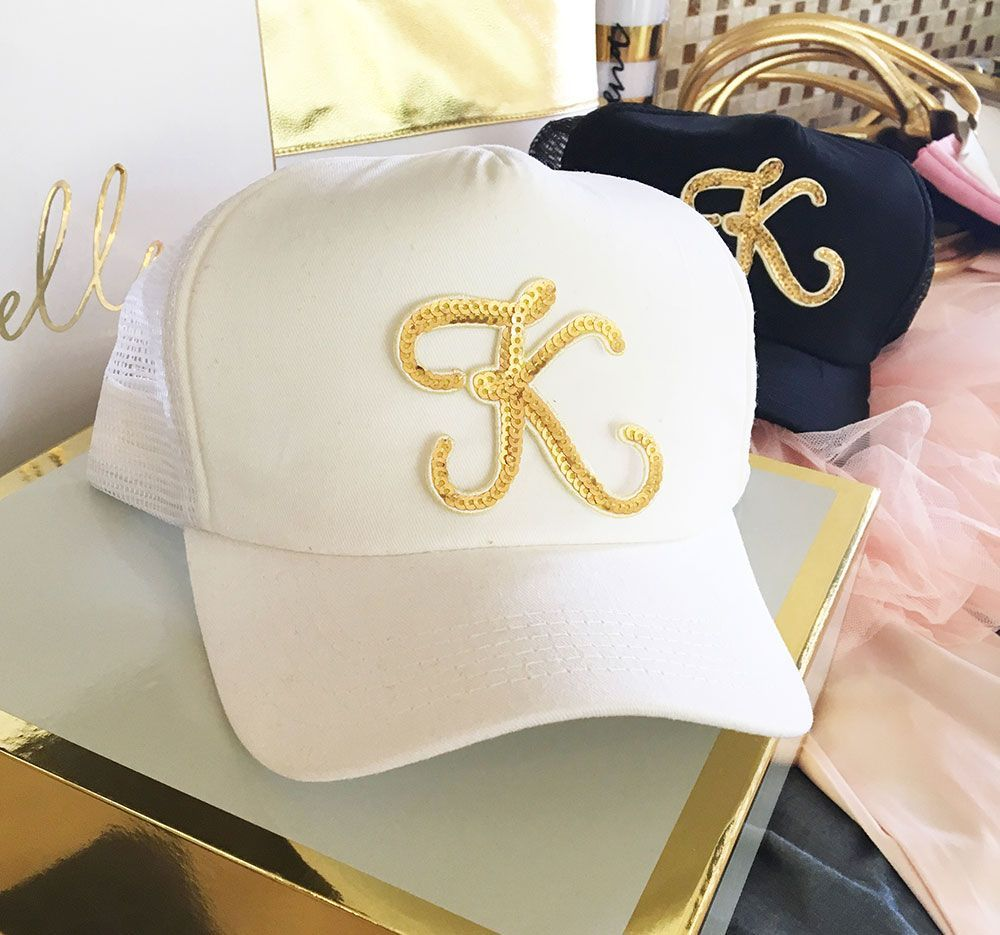 Check out the deal on Monogram Trucker Hat at Wedding Favorites ...