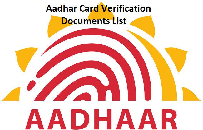 Uidai Accepts Several Proof Of Identity Proof Of Address And Proof Of Date Of Birth Documents For Aadhaar Card Aadhar Card Card Downloads Digital India