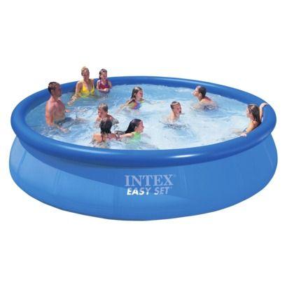 Intex 15 X 36 Easy Set Swimming Pool Round Piscina Intex
